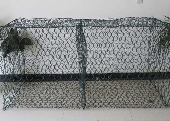 China Erosion Control Gabion Wall Fence Rock Gabion Baskets For Scour Protection supplier