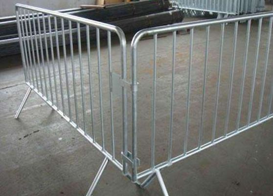 China Galvanized Coated Temporary Fencing Hire For Work Site / Iron And Steel Material supplier