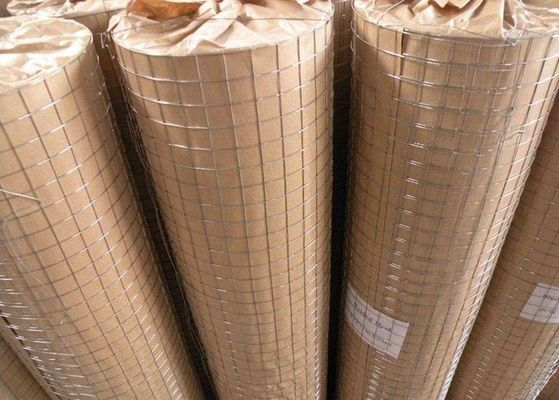 China Anti Corrosive Stainless Steel Welded Wire Mesh Panels , Galvanised Welded Mesh Rolls supplier