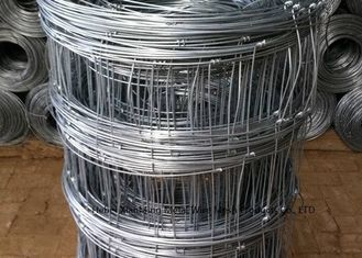 China Wire Cattle Farm Fence Panels , Galvanized Field Fence 15/30mm Hole Size supplier