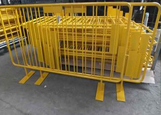 China Safety Barrier Temporary Backyard Fence , Temporary Security Fence Panels For Crowd Control supplier