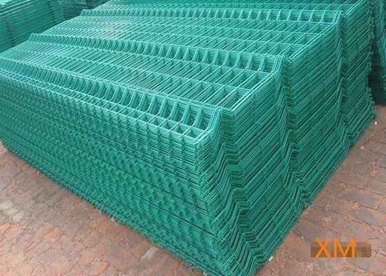 China Bend Triangle Wire Mesh Garden Fence Security Heat Resistance With 40x60x1.5 Post Size supplier
