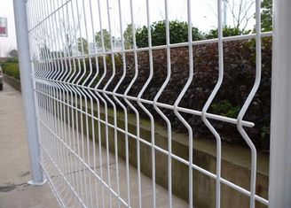 China Iron Green Decorative Garden Fence , Custom Wire Fencing Panels For Landscaping supplier