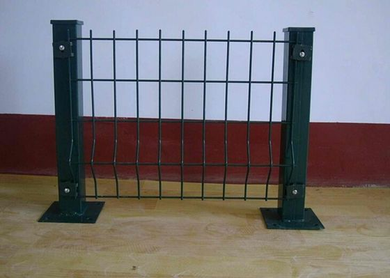 China Bending Barrier Wire Fence / Park Fence Barricade / Fence With Triangle Bends supplier