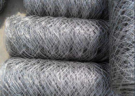 China Galvanized Hexagonal Wire Mesh , Chicken Wire Fencing For Poultry Farming supplier