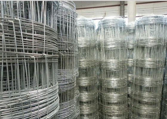 China Galvanized Grassland Farm Fence / Field Fence Wire For Sheep And Cattle supplier