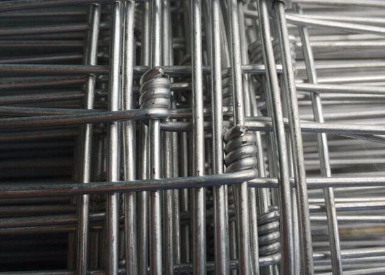 China Hinge Joint / Knot Field Farm Mesh Fencing For Livestock , 0.6-2.5m Height supplier