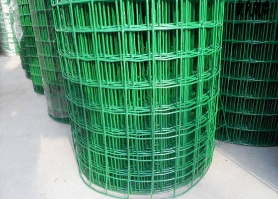China Low Carbon Powder Coated Steel Wire Fencing 2-6.0mm Dia With Euro Style supplier