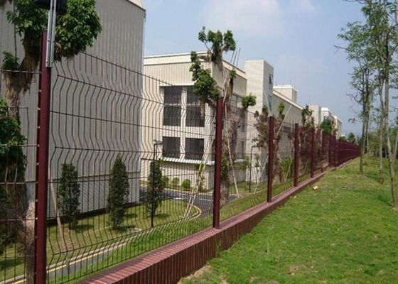 China Anti Thief Steel Garden Fence Panels Heavy Gauge For Boundary Wall supplier