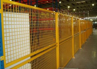 China Indoor Warehouse Safety Fences , Security Steel Fencing 1.5-3m Width supplier