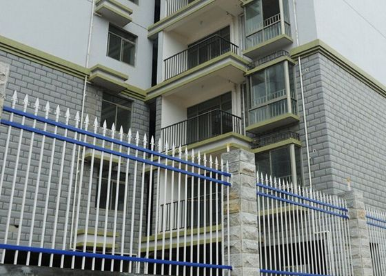 China Balcony Guardrail Zinc Steel Fence 159DPN Hardness High Strength supplier