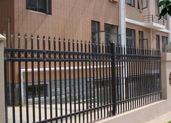 China Metal Zinc Steel Fence For Privacy Countyard Protection , School Fence Panels supplier