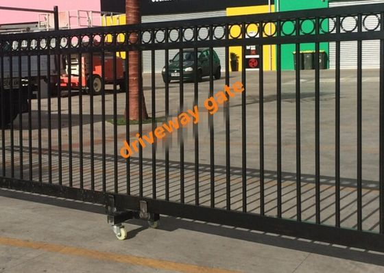 China Remote Control Sliding Gate / Driveway Automatic Security Gates Factory supplier