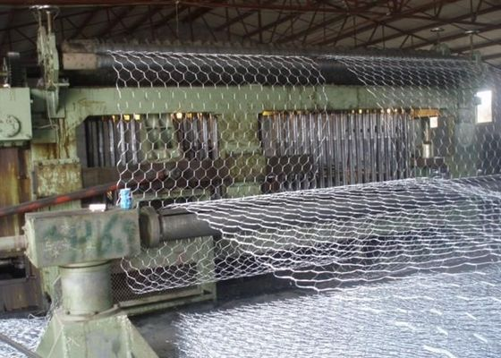 China Hexagonal Wire Gabion Mesh Cages Safety For Building / Construction supplier