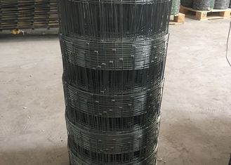 China Electro Galvanized Cattle Wire Fence Weaving Mesh With 1.8-3.0mm Dia supplier