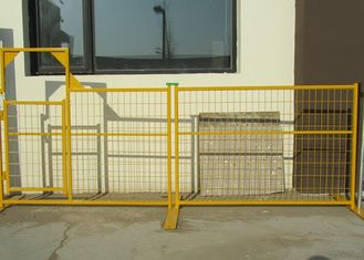 China Canada Temporary Privacy Fence , Portable Safety Fence Panels Weather Resistant supplier