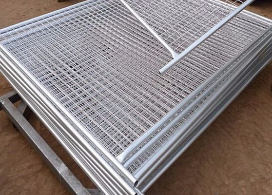 China Welded Construction Temporary Chain Link Fence Panels Low Carbon Steel supplier