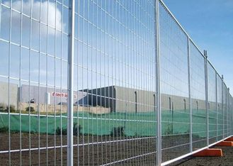 China Free Standing Temporary Construction Fence Removable For Playground / Residential supplier