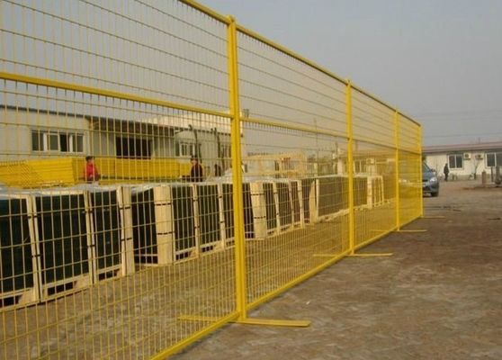China Metal Construction Temporary Fencing For Backyard / Temporary Site Fencing supplier