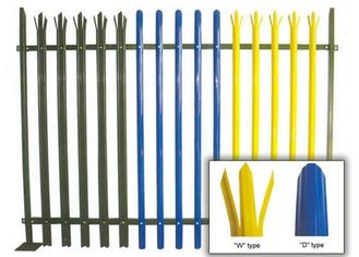 China Swimming Pools Rail Steel Palisade Fencing Guard Decoration With Powder Coating supplier