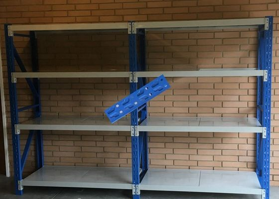 China Pallet Steel Storage Shelves / Light Duty Double Deep Pallet Racking supplier