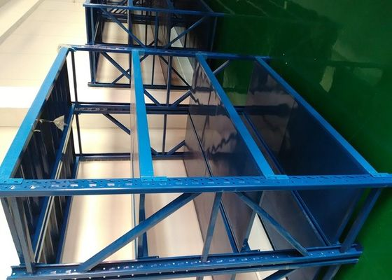 China Light Duty 4 Shelf Metal Shelving Unit Cold Rolled For Household supplier