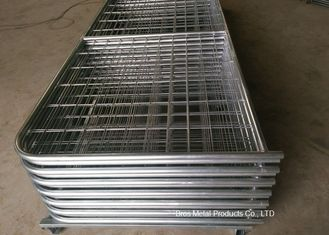 China Galvanized Pipe Frame Farm Mesh Fencing Easy Install With I / N Type supplier