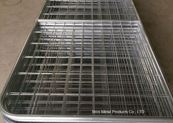 China Welded Farm Mesh Fencing Filled Tube Galvanized 12 Foot Farm Gate Durable supplier