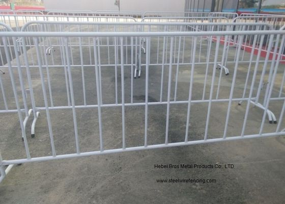 China Crowd Control Temporary Backyard Fence For Safety Traffic Management supplier