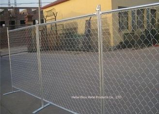 China Outdoor Temporary Construction Fence Chain Link Fencing For Construction Protection supplier