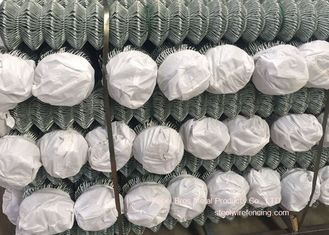 China Weave Diamond Steel Wire Fencing , Roll Strong Wire Fencing For Garden supplier