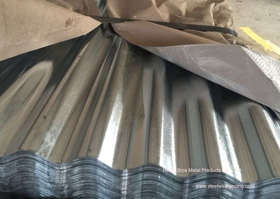 China Waved Galvanized Steel Sheet Plates For Roofing , Walls , Ceiling supplier
