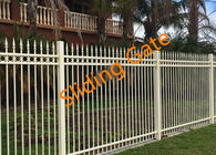 China Decorative Courtyard Automatic Driveway Gates , Electric Metal Gates Heat Treated factory