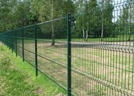 China PVC Coated 3 D Folds Welded Wire Mesh Fence / Decorative Garden Mesh Fencing factory