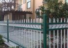 Euro Style Tubular Zinc Steel Fence Powder Coated For School , Convenient Install