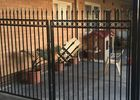 China Powder Coated Automatic Driveway Gates Rot Proof For Home / Countyard factory