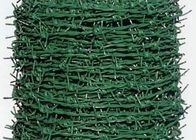 China PVC Coated Security Barbed Wire Fencing With Low Carbon Steel Materials factory