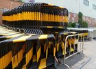 China Powder Coated Temporary Construction Fence Barricade For Sporting Events factory
