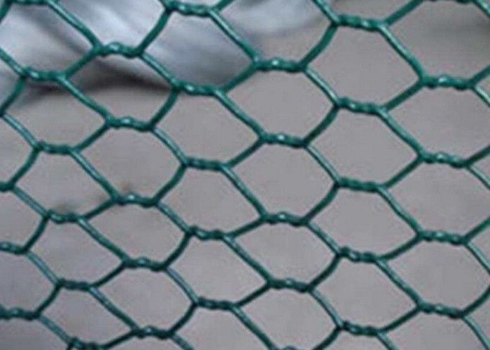 Chicken Poultry Farm Mesh Fencing PVC Coated For Protection OEM ODM ...