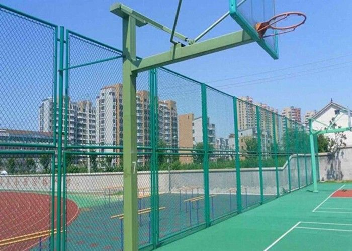 Galvanized Chain Link Diamond Wire Mesh Fence Panels For