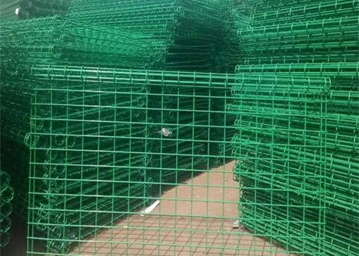 Ornamental Double Loop Steel Wire Fencing / Decorative Wire Mesh ...