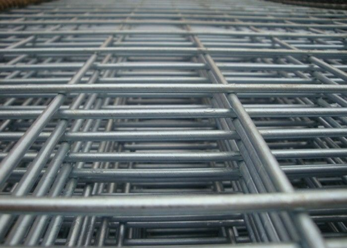 Low Carbon Steel Welded Wire Mesh Panels Concrete Reinforcing Mesh