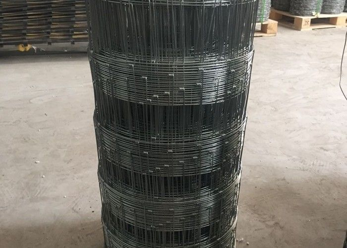 Electro Galvanized Cattle Wire Fence Weaving Mesh With 1.8-3.0mm Dia