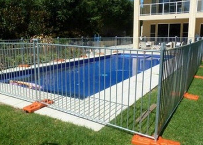 Australian Temporary Security Fencing Hire 5.0mm Dia For Swimming Pool