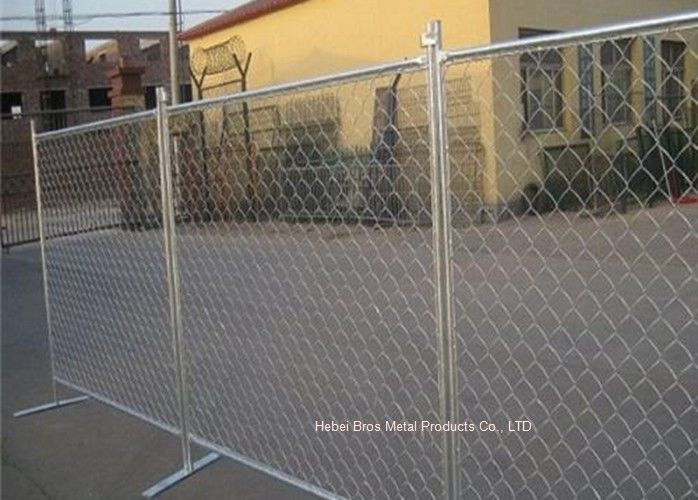 Outdoor Temporary Construction Fence Chain Link Fencing