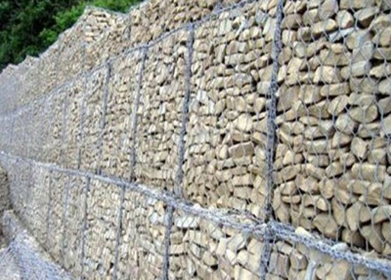 Outside Construction Rock Gabion Baskets For Rock Retaining Walls