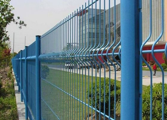 China Powder Sprayed Curved Metal Garden Mesh Fencing Multicolor Available factory