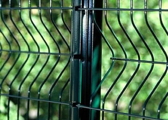 China PVC Coated Welded Wire Mesh Panels For Area Protection , Eco Friendly factory