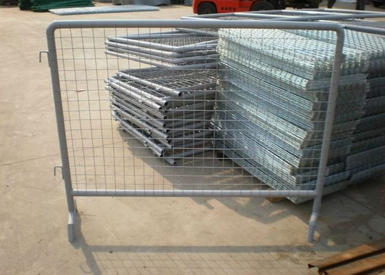Hot Dipped Galvanized Temporary Construction Fence For Sports / Concerts
