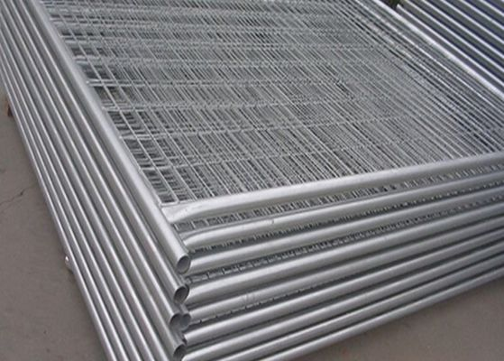 China Security Galvanized Temporary Construction Fence Panels For Isolation factory